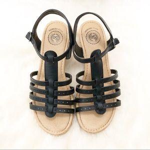 """Kohl's SO """"Ringmaster"""" Girls' Wedge Sandal SZ 4"""
